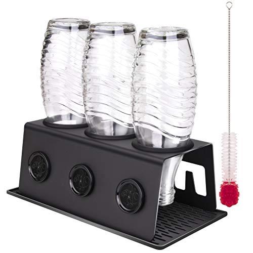 Sodaflip Support d'égouttoir sodastream pour Sodastream Crystal, Easy et autres machines à gazéifier