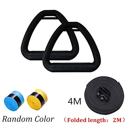 Affordable Lcb Gymnastics Ring Adults Gymnastics Rings ABS with Heavy Duty Adjustable Straps Non-Sli...