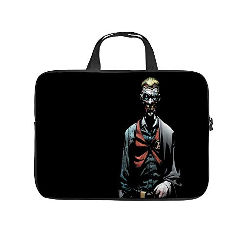 Universal Laptop Computer Tablet,Pouch,Cover for,Apple/MacBook/HP/Acer/Asus/Dell/Lenovo/Samsung,Laptop Sleeve,Joker Bat-Man and Robin Bat-Man,15inch