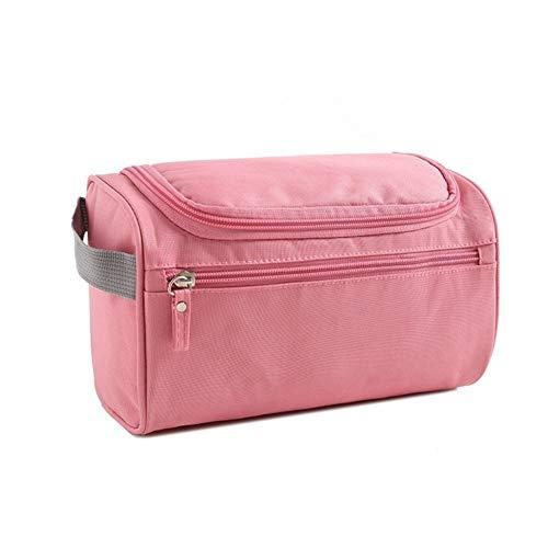 EHEH Sac cosmétique, Sacs Idéal for Voyage toilette vacances de remise en forme Camping Salle de bains et fête en plein air Activités Ues for les cosmétiques Beauté et plus Bijoux (Color : Pink)