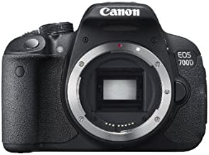 Canon EOS 700D 18MP Digital SLR Camera (Black) (Body Only) - International Version (No Warranty)