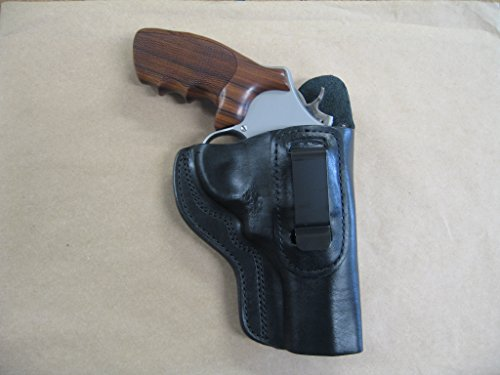 """Taurus 608 8 Shot 3"""" Revolver IWB Leather in The Waistband Carry Holster CCW Black RH"""