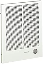 Broan-NuTone 198 High Capacity Wall Heater, White Painted Grille, 4000/2000 Watt 240 VAC, 2000/4000
