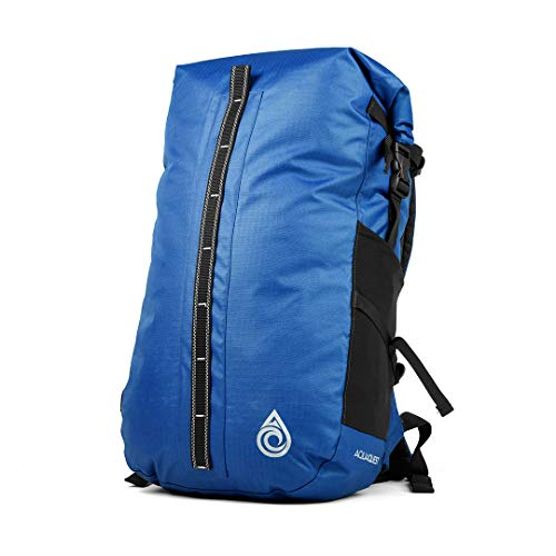 Aqua Quest Cloudbreak Waterproof Bag - Large 30L Day Pack - for Commuting to Work, College, Protect your Laptop - Blue