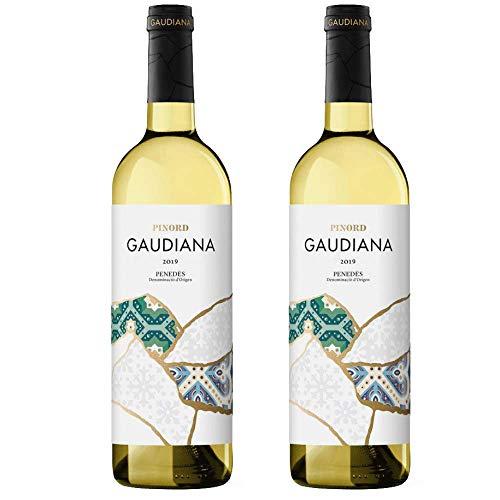 Pinord Gaudiana Blanco Vino - 750 ml - [paquete de 2]