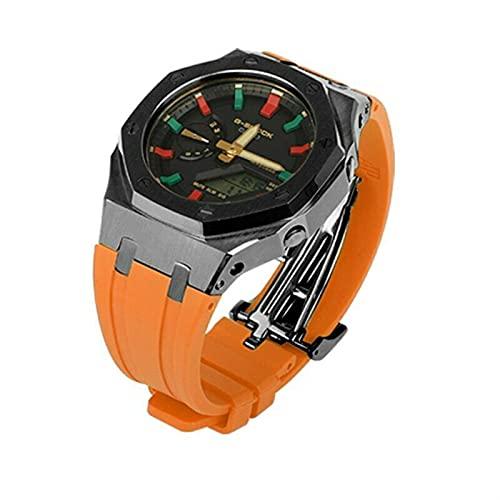WSGGFA Banda para Gear S3 Frontier Strap para Samsung Galaxy Watch 46mm para Amazfit BIP para Huawei Watch GT 2E Strap Sport 22mm Watch Accesorios de Reloj 47mm