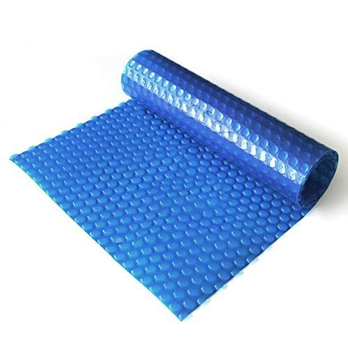 HH- Bâches Couverture Solaire Bleue De Piscine, Couverture De Piscine Anti-Pluie Durable De Poussière for Les Piscines Hors Terre Rectangulaires (Size : 3×5m)