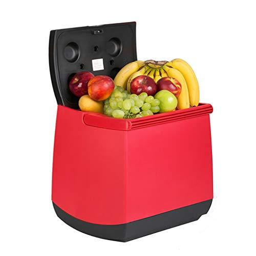 Car Refrigerator RéFrigéRateur De Voiture 25L Thermostat De BoîTe De Refroidissement Et De Chauffage De Voiture - Rouge