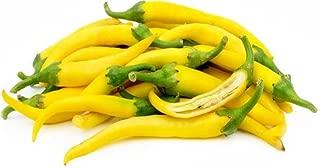 David's Garden Seeds Pepper Cayenne Yellow AS8792 (Yellow) 25 Non-GMO, Open Pollinated