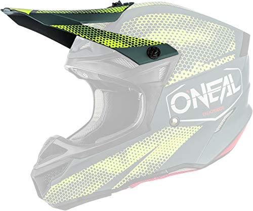 O'NEAL 5 Series Covert Visor Helm Blende Schirm grau/gelb Oneal