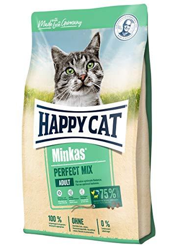 Happy Cat Minkas Perfect Mix Geflügel, Fisch & Lamm, 10 kg
