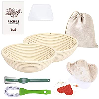 9 Inch Bread Proofing Basket for Baking Tool 25...