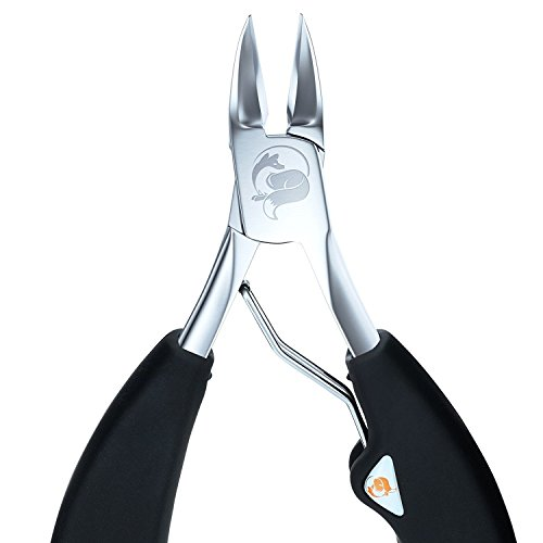 The Original Soft Grip Toenail Clippers by Fox Medical