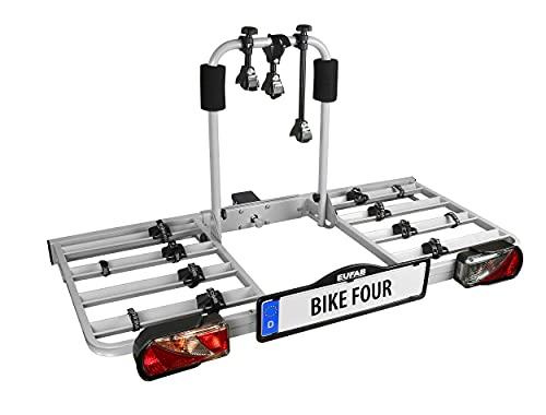 Eufab 11437 Bike Four - Portabicicletas