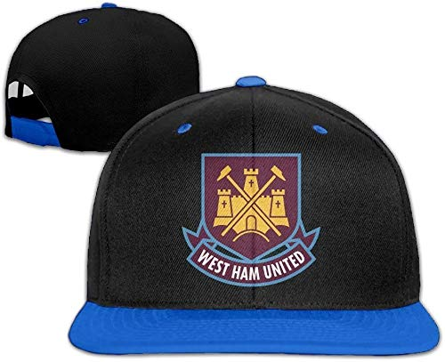 YVES West Ham United Fc London Logo (1) Unisex Hip Hop Baseball Cap&Hat RoyalBlue