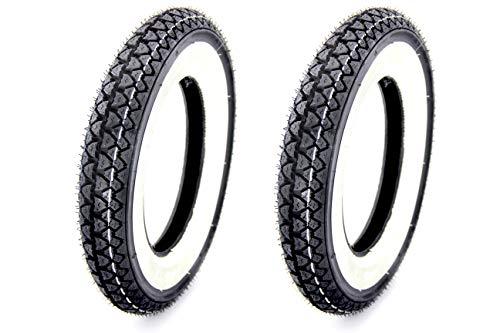 2 KENDA Weisswand Reifen - 3,00x10-4PR, 42J, TT - für Roller (8)