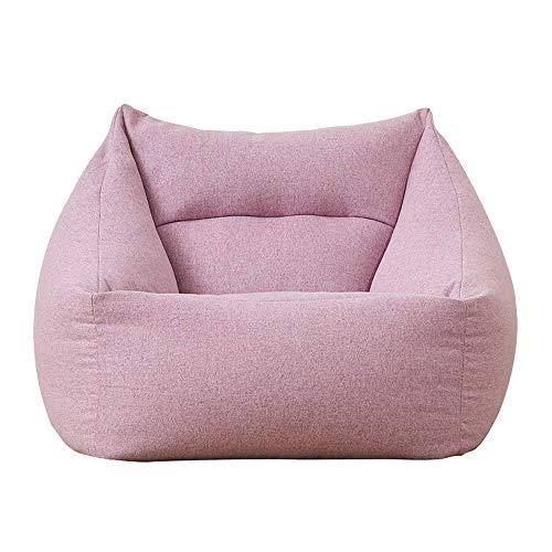 Zitzak Slaapbank voor luifel, bank, zitzak, sofa, afneembaar en wasbaar, luxe stoel, meisjes-leuke enkele slaap, 66 × 66 × 70 cm