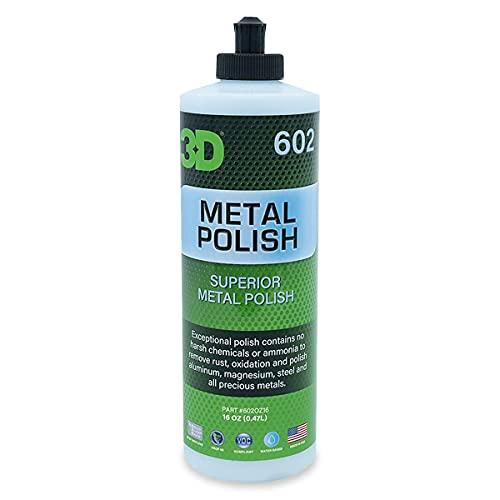 3D Metal Polish - Heavy Duty All Purpose Metal Polish & Aluminum...