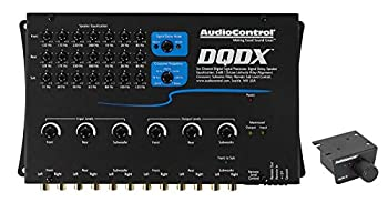 AudioControl DQDX Black 6 Channel Performance Digital Signal Processor