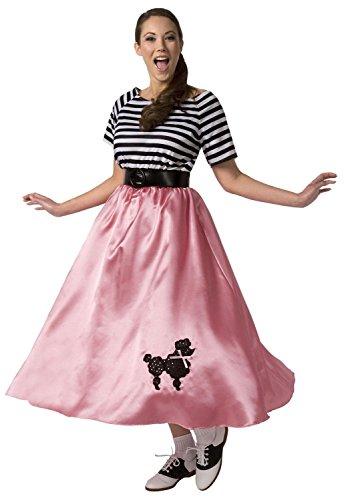 PALAMON - Disfraz de parisina para mujer, talla 50