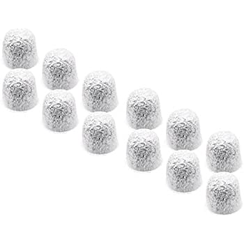 Nispira Water Filter Replacement Pods Compatible with Hamilton Beach Coffeemaker BrewStation & Stay or Go (80674), set of 12 filters