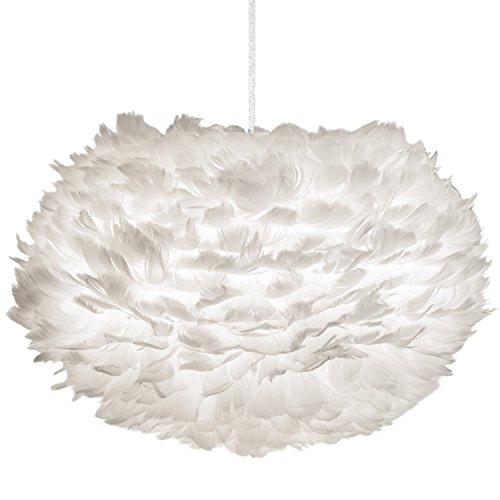 Umage Eos Lampenschirm, Gänsefedern, weiß, 45x30cm
