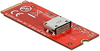 DeLOCK M.2 Key M a 1 convertitore OCuLink SFF-8612