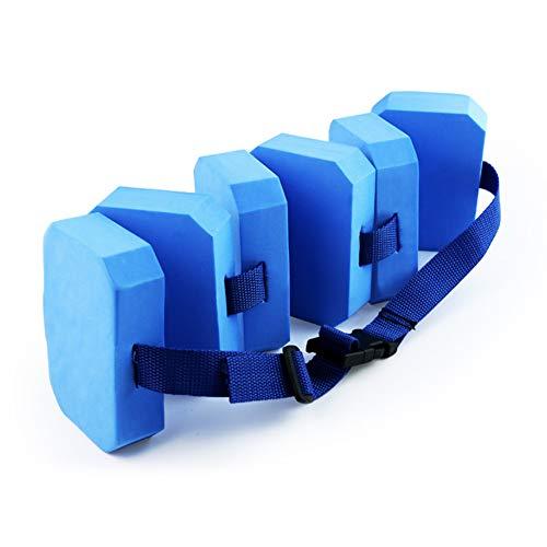 DUDNJC Swim Belts EVA Big Buoyancy Back Float Safety Foam Aids Swim Training Belt Floating Waist Belt , Adjustable Swimming Floating Waistband for Kids Adults Swimming Beginners Float