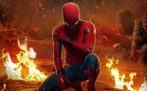 Papel Pintado Mural De Spiderman The Avengers Pared De Fondo Spider-man Regalo De Navidad Papel Tapiz Para Habitación De Niños Sala De Estar Tv Fondo Decoración De Pared