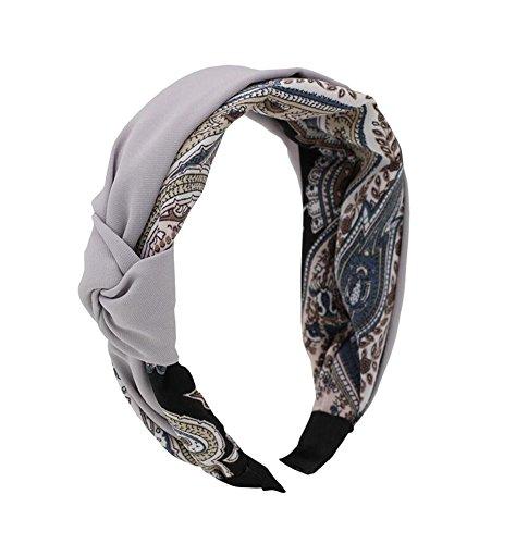 Style simple Belle femme/Girl Hair Band Hair Clip Head Ornament-Grey