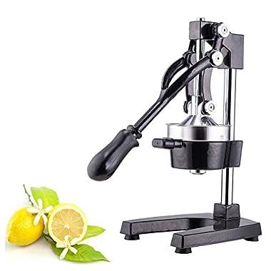 CO-Z Commercial Grade Citrus Juicer Hand Press Manual Fruit Juicer Juice Squeezer Citrus Orange Lemon Pomegranate (Black)