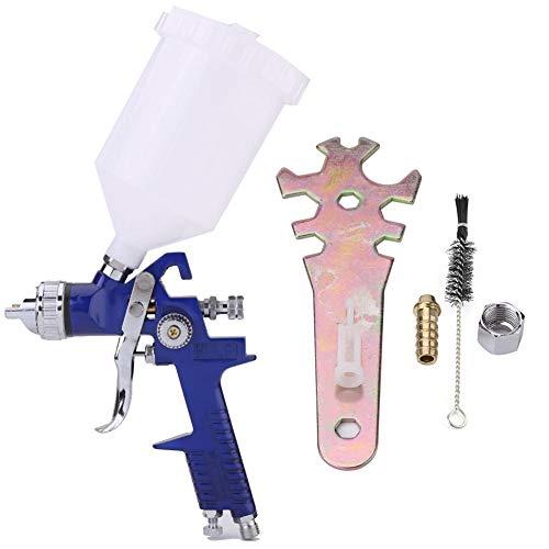 Gereedschapskoffer voor pistool voor het spuiten van luchtverf HVLP stroomvoorziening door zwaartekracht auto-mondstuk 600 CC 1,4 mm