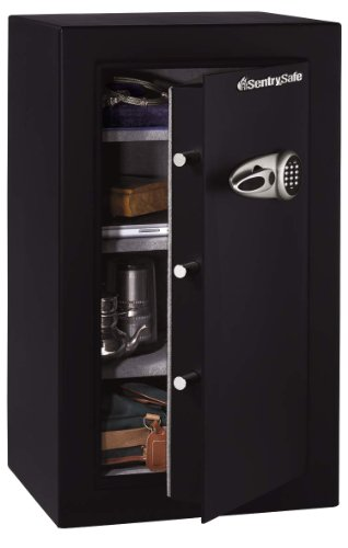 SentrySafe T0-331 Security Safe, 6.01 cu. ft, Black
