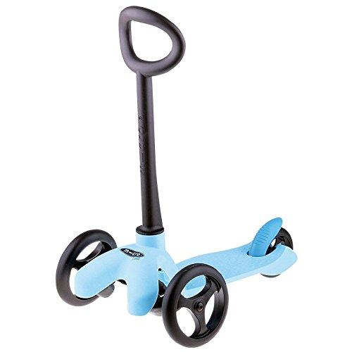 Imaginarium - Patinete correpasillos de tres ruedas, Microlino Blue (83889)