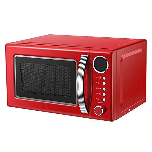 ZUZEN De Microondas Doméstico Horno Pequeño De Una Sola Pieza De Múltiples Funciones Automático Mini Vapor Retro para La Cocina,...
