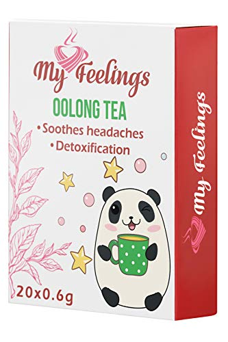 My Feelings Oolong-Tee - Pulverextrakt, 20 Sticks x 0,6 g