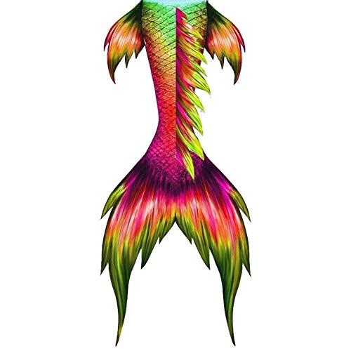 Xiatian Cola De Sirena, Traje De Baño Cola De Princesa Sirena Bikini Niñita Ropa Cosplay, Traje De Bano Sirena para Niñas, Regalo del Día De La Madre Cola de Sirena (Color : Style C, Size : Ta