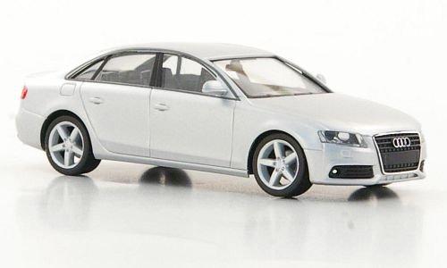 Audi A4, silber, Modellauto, Fertigmodell, Herpa 1:87