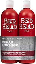 Bed Head by Tigi Urban Antidotes Resurrection Repair Shampoo 750 ml and Conditioner 750 ml