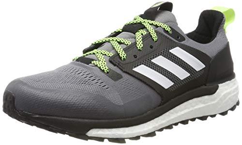 Adidas Supernova Trail M, Zapatillas de Deporte para Hombre, Gris (Gritre/Ftwbla/Negbás 000), 41 1/3 EU