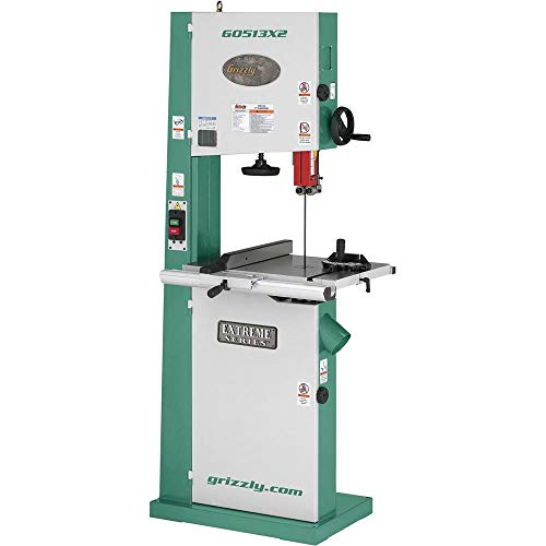 """Grizzly Industrial G0513X2-17"""" 2 HP Bandsaw w/Cast Iron Trunnion"""
