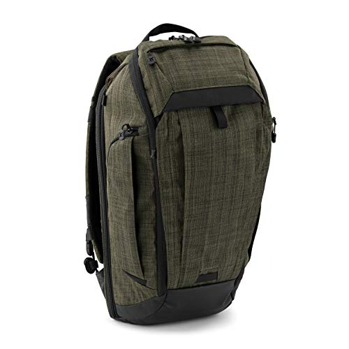 Vertx Gamut Checkpoint Backpack, Heather Green/Galaxy Black, Os