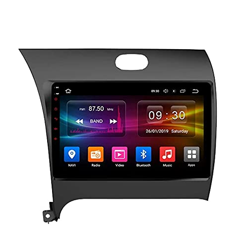 ZHFF Car Stereo Android 10.0 Radio Head Unit Compatible Kia Cerato 3 K3 2013-2020 Navegación GPS 9 Pulgadas HD Pantalla táctil Reproductor Multimedia MP5 Receptor de Video con WiFi SWC Mirrorlink