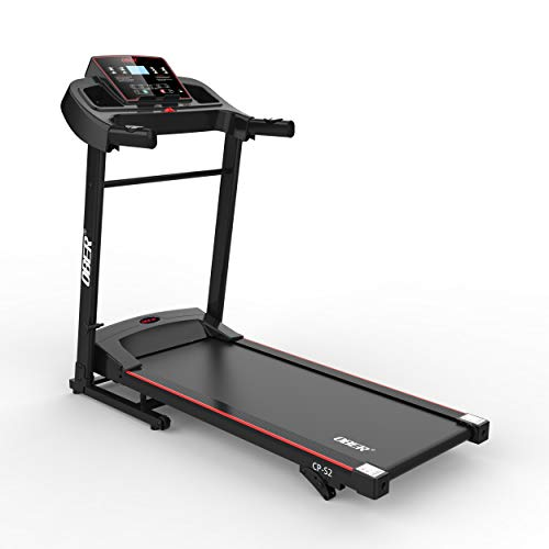 Ober Electric Folding Treadmills for Home with Incline