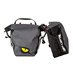 Dry bag waterproof - Your belongings are sure to be kept dry with this marine grade fully waterproof 500D/tarpaulin material (composition of 85% Polyvinyl Chloride, 15% polyester). Spacious - Each bag offers 3, 300 cubic cm of storage per side. Comes...