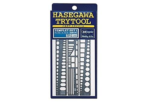 ハセガワ トライツール テンプレートセット 直線 プラモデル用工具 TP1