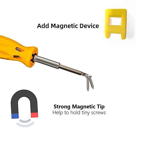 Multitool Screwdriver - 7 in 1 Screwdriver MultiTool Multi-bit Screwdriver Multi-function Magnetic Professional Multi-tool Repair Hand Tool