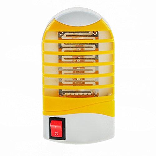 Vosarea Mini Lampara Mata Mosquitos Electrico Interior Socket LED Luz Repelente de Mosquitos Mata Insectos