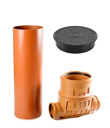 K + M 99,50€/Einheit Kontrollschacht DN315 mit Gleitmittel Wartungsschacht Revisionsschacht Kanalrohr KG Rohr