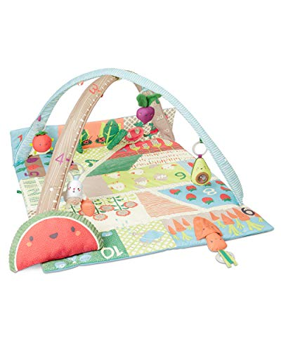 Skip Hop Farmstand Grow & Play Baby Play Mat and Infant Activity Gym